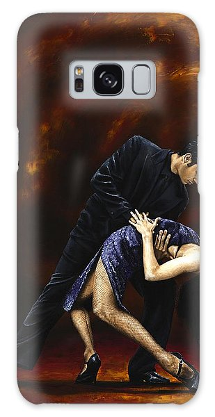 Tango Galaxy Case - Lost In Tango by Richard Young
