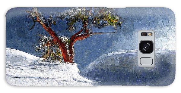 Lost In The Snow Galaxy Case by Alex Galkin