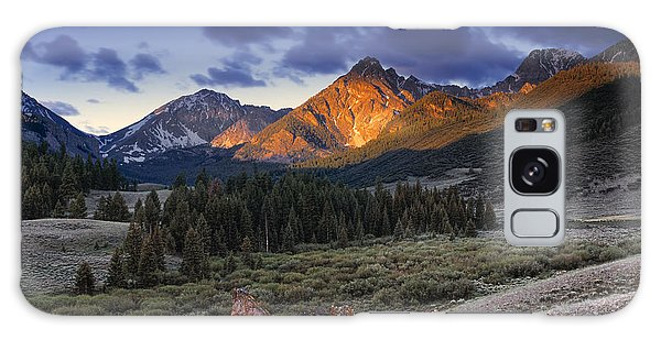 Beautiful Galaxy Case - Lost River Mountains Moon by Leland D Howard
