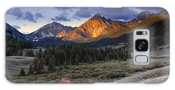 Lost River Mountains Moon Galaxy Case by Leland D Howard