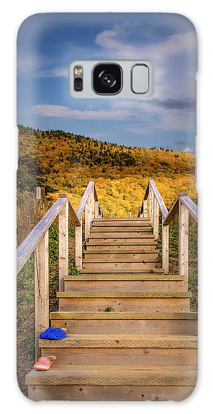 Cabot Trail Galaxy Case - Lost Shoes On The Stairs To The Sky by Ken Morris