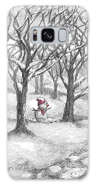 Lost Snowman Galaxy Case