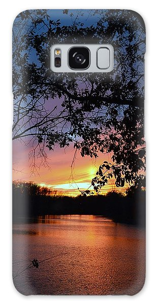 Lost Sunset Galaxy Case