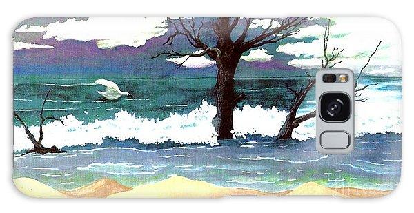 Lost Swan Galaxy Case by Patricia Griffin Brett