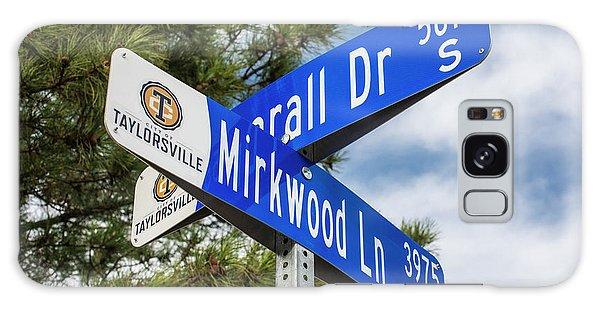 Lotr Mirkwood Street Signs Galaxy Case by Gary Whitton