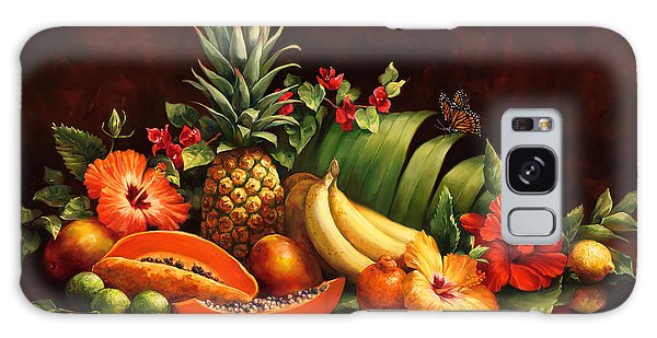 Lots Of Fruit Galaxy Case by Laurie Hein
