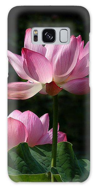 Lotus Beauties--upstaged Dl048 Galaxy Case by Gerry Gantt