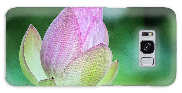 Lotus Bud Galaxy Case
