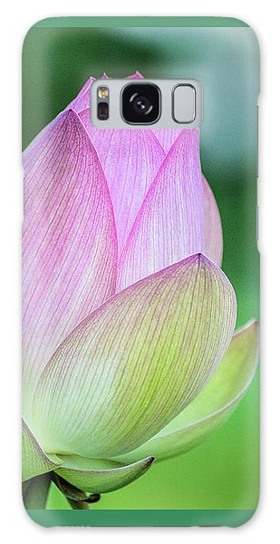 Lotus Bud Galaxy Case
