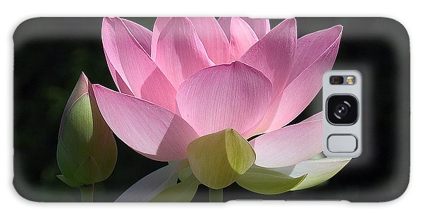Lotus Bud--snuggle Bud Dl005 Galaxy Case