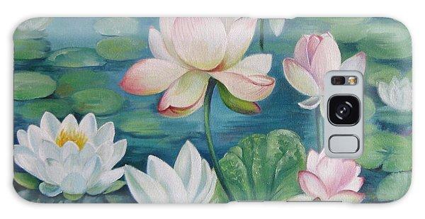 Lotus Flowers Galaxy Case