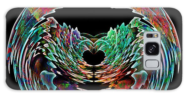Lotus In A Bowl Galaxy Case