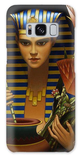 Egypt Galaxy Case - Lotus by Jane Whiting Chrzanoska