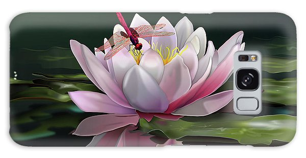 Lotus Meditation Galaxy Case