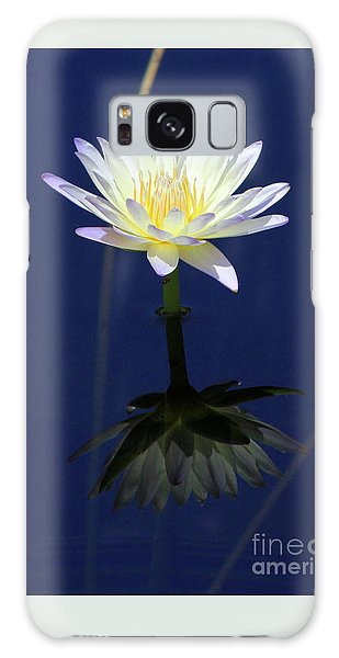 Lotus Reflection Galaxy Case