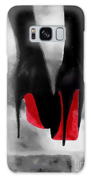 Fashion Galaxy Case - Louboutin At Midnight Black And White by My Inspiration