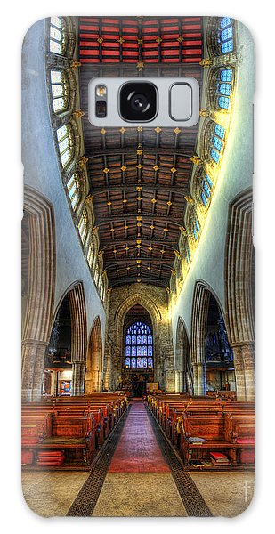 Loughborough Church - Nave Vertorama Galaxy Case