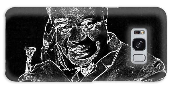 Louis Armstrong Galaxy Case by Charles Shoup