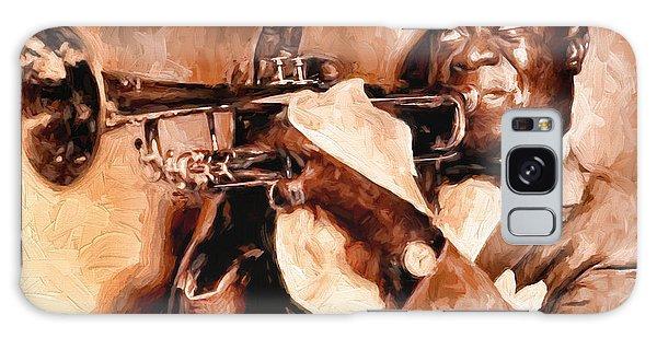 Louis Armstrong Galaxy Case