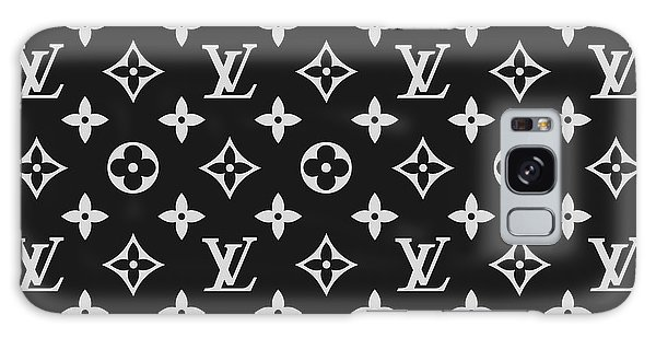 Logo Galaxy Case - Louis Vuitton Pattern - Lv Pattern 06 - Fashion And Lifestyle by TUSCAN Afternoon