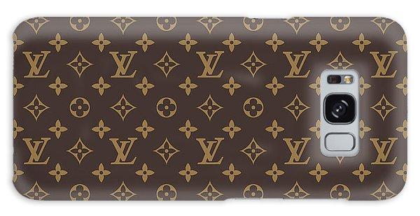 Scarf Galaxy Case - Louis Vuitton Texture by Zapista Zapista