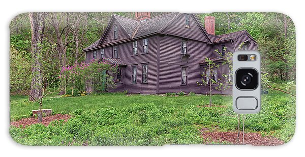 Louisa May Alcotts Orchard House Concord Massachusetts Galaxy Case