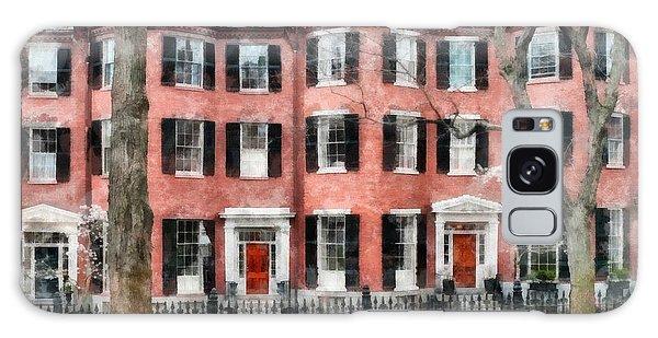 Brick House Galaxy Case - Louisburg Square Beacon Hill Boston by Edward Fielding
