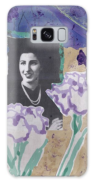 Louise In Boston 1944 In Memory Of My Mother Galaxy Case