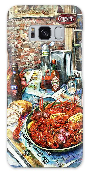 Food Galaxy Case - Louisiana Saturday Night by Dianne Parks