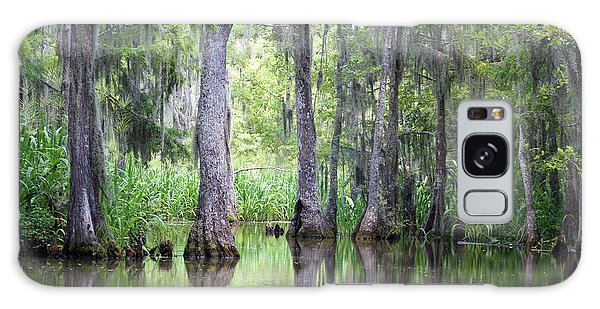 Louisiana Swamp 5 Galaxy Case by Inspirational Photo Creations Audrey Woods