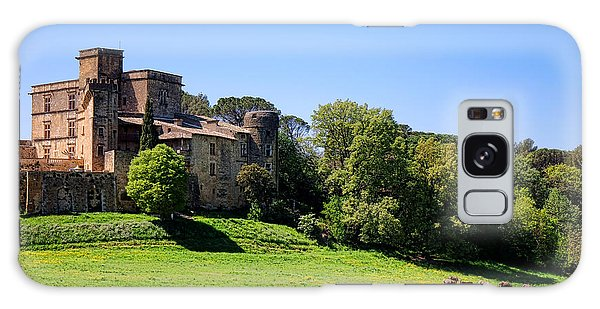 Lourmarin Castle Galaxy Case by Olivier Le Queinec