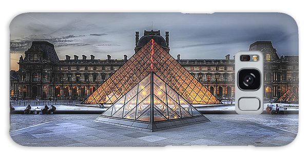 Louvre At Dusk Galaxy Case