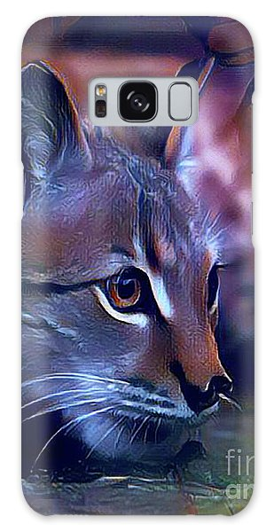 Lovable Feline Galaxy Case