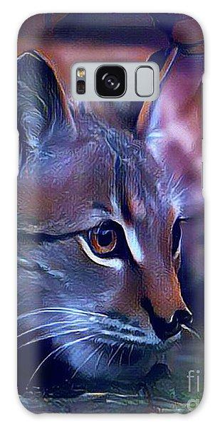 Lovable Feline Galaxy Case