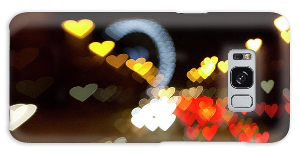 Love Along The Champs-elysees Galaxy Case by Melanie Alexandra Price