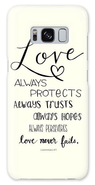Love Always Galaxy Case