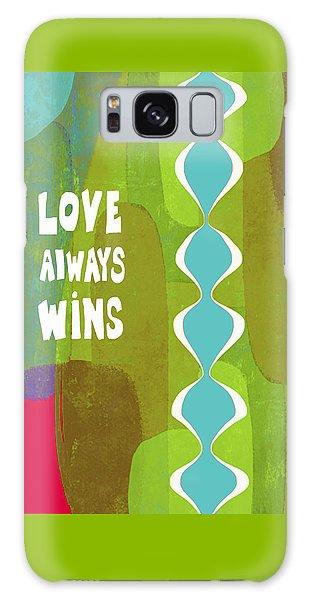 Love Always Wins Galaxy Case