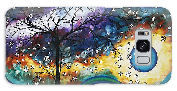 Calm Galaxy Case - Love And Laughter By Madart by Megan Duncanson