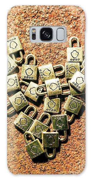 Safe Galaxy Case - Love And Locks by Jorgo Photography - Wall Art Gallery