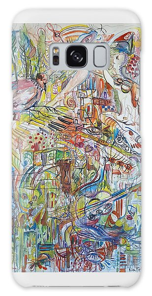 Love And Music Galaxy Case by Rita Fetisov