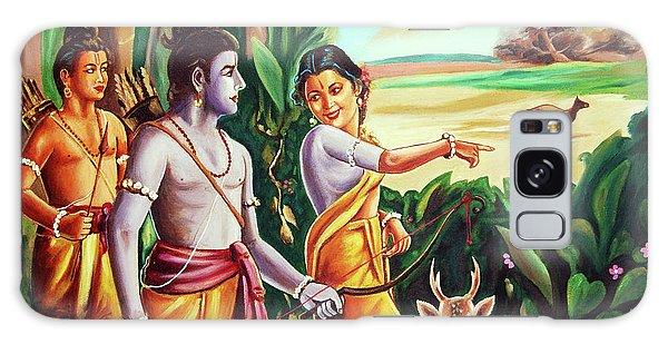 Love And Valour- Ramayana- The Divine Saga Galaxy Case by Ragunath Venkatraman