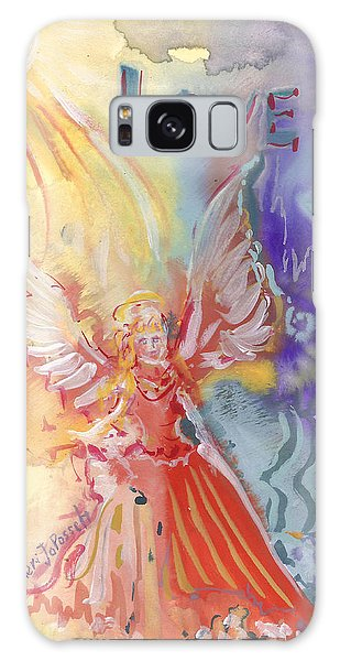 Love Angel Galaxy Case