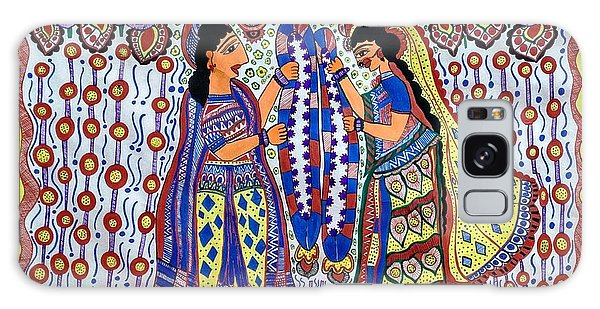 Madhubani Galaxy Case - Love  by Archana Jha
