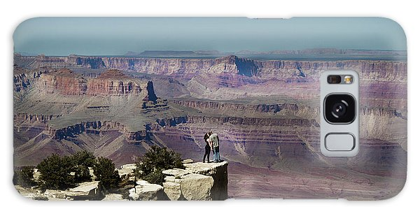 Love At The Grand Canyon Galaxy Case
