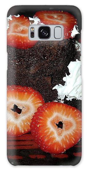 Love Berry Much Galaxy Case by Kelly Reber
