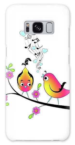 Love Bird Serenade Galaxy Case