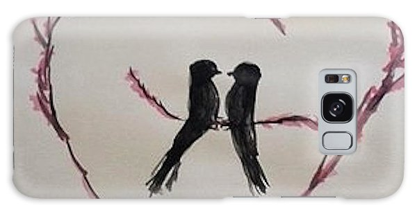 Love Birds Galaxy Case