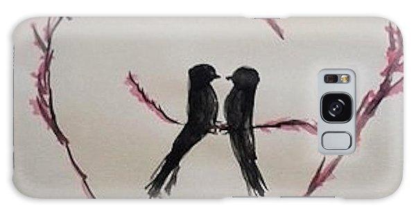 Love Birds Galaxy Case