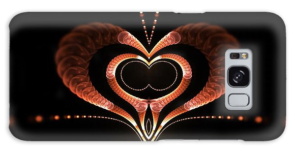 Galaxy Case featuring the digital art Love Bug by Sandra Bauser Digital Art