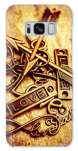 Pendant Galaxy Case - Love Charms In Romantic Signs And Symbols by Jorgo Photography - Wall Art Gallery